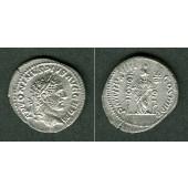 Marcus Aurelius Antoninus III. CARACALLA  Denar  vz  [215]