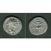 Titus Flavius DOMITIANUS  Denar  ss+  selten  [81]