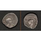 Marcus Aemilius LEPIDUS + OCTAVIAN  Denar  vz  RAR!  [42 v.Chr.]