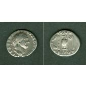 Titus Flavius VESPASIANUS  Denar  ss+  [72-73]