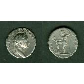 Titus Flavius VESPASIANUS  Denar  ss+  selten  [72-73]