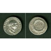 Titus Flavius VESPASIANUS  Denar  ss+/f.ss  selten  [73]