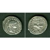 Titus Flavius DOMITIANUS  Denar  ss+  [79]