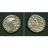 LUCIUS (Aurelius) VERUS  Denar  ss+/ss  selten  [169]
