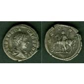 Lucius Publius Septimius GETA  Denar  ss+  selten  [200-202]