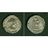 Marcus Aurelius Antoninus III. CARACALLA  Denar  f.vz  [205]