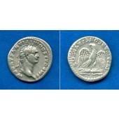 Titus Flavius DOMITIANUS  Denar  ss+  selten  [81-83]