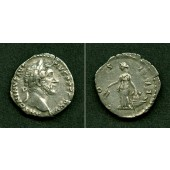 ANTONINUS PIUS  Denar  ss-vz  [152-153]