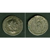 Marcus Opelius Severus MACRINUS  Denar  ss+  selten  [217-218]