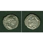 Lucius Aelius Aurelius COMMODUS  Denar  f.vz  selten  [186]