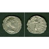MARCUS AURELIUS Antoninus  Denar  ss+  [151-152]