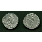 Lucius Aelius Aurelius COMMODUS  Denar  ss-vz  selten  [190-191]