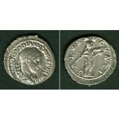 Marcus Antonius GORDIANUS III. Pius  Denar  selten!  f.vz  [241]