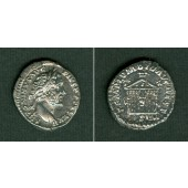 ANTONINUS PIUS  Denar  ss-vz  selten  [158-159]