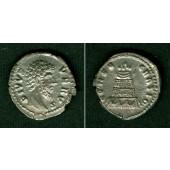 LUCIUS (Aurelius) VERUS  Denar  Divus  vz  selten  [169]