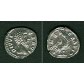 LUCIUS (Aurelius) VERUS  Denar  Divus  f.vz  selten  [169]