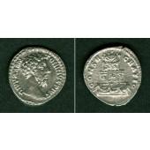 MARCUS AURELIUS Antoninus  Denar  Divus  ss-vz  selten  [180-181]