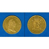 Österreich Ungarn Italien Lombardei GOLD Sovrano 1789 M  ss