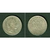 Österreich Ungarn Kaiserreich 1/4 Florin 1859 B  vz