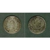 Österreich 20 Kreuzer Kaiserreich 1808 B (Ungarn) ss