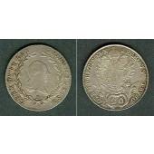 Österreich RDR 20 Kreuzer 1803 B (Ungarn) ss-vz