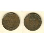 Österreich Ungarn Kaiserreich 1 Kreuzer 1816 G  ss+  selten