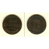 Österreich Ungarn Kaiserreich 1 Kreuzer 1816 O  vz-  selten