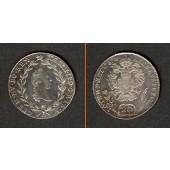 Österreich RDR 20 Kreuzer 1787 B (Ungarn)  f.stgl./stgl.!