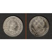 Österreich RDR 20 Kreuzer 1790 G (Ungarn)  vz-  selten