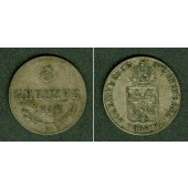 Österreich Ungarn Kaiserreich 6 Kreuzer 1848 A  ss-vz