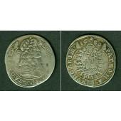 Österreich UNGARN RDR 15 Kreuzer 1680 KB  ss
