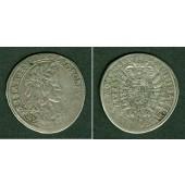 Österreich RDR 15 Kreuzer 1661 CA  ss