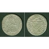 Österreich RDR 15 Kreuzer 1663 CA  ss