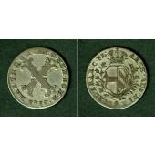 Österreich Niederlande RDR 20 Liards 1753  ss  selten