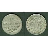 Österreich RDR 12 Kreuzer 1795 B  f.vz  selten