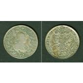 Österreich RDR 20 Kreuzer 1781 B (Kremnitz)  ss/ss-vz