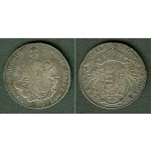 Österreich Ungarn RDR 1/2 Taler 1787 A  ss/ss+