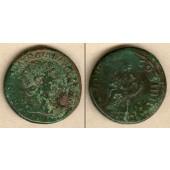 Marcus Ulpius TRAJANUS  Dupondius  [101-102]