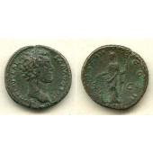 MARCUS AURELIUS Antoninus  Dupondius  ss  [148-149]