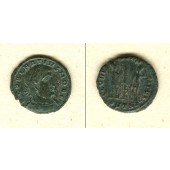 Flavius Julius DELMATIUS  Follis  ss+  selten!  [336-337]