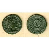 Flavius Valerius CONSTANTINUS I. (der Große)  Follis  vz  selten  [326]