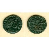 Flavius Julius DELMATIUS  Follis  ss-vz  selten!  [337]