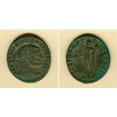 Caius Valerius DIOCLETIANUS  Groß-Follis  ss+  [297-298]