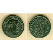 Galerius Valerius MAXIMINUS II. Daia  Groß-Follis  ss-vz  selten  [312]
