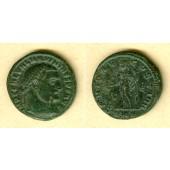 Galerius Valerius MAXIMINUS II. Daia  Follis  ss  selten  [312]