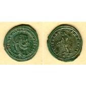 Caius GALERIUS Valerius Maximianus  Groß-Follis  ss-vz  [305-306]