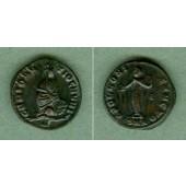 Galerius Valerius MAXIMINUS II. Daia  Follis  f.vz  selten  [305-313]