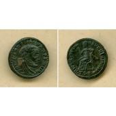 Flavius Valerius CONSTANTIUS I. (Chlorus)  DIVVS  1/2 Follis  selten!  vz/ss-vz  [317-318]