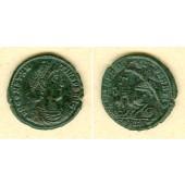 Flavius Julius CONSTANTIUS II.  Maiorina  vz-/ss+  [348-351]