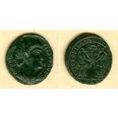 Flavius Magnus MAGNENTIUS  Follis  f.vz  [351-352]